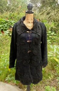 Tivoli Linen Long Jacket with Pockets - Black - $145.00