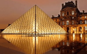 1st Most visited country in the world:  France: 84.7 million visitors