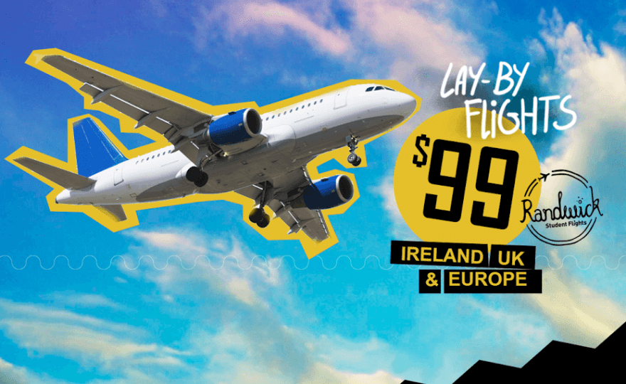 $99 Lay by flights from Australia