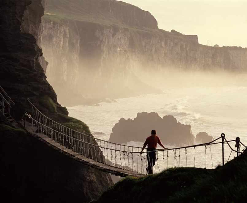 Carrick-a-rede Rope Bridge - visit Ireland