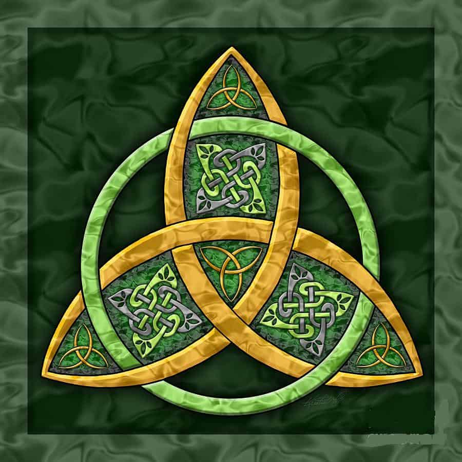 The Triquetra Or The Trinity Knot Irish Around The World