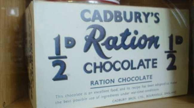 FT5S+Cadbury+Ration+Chocolate+WWII