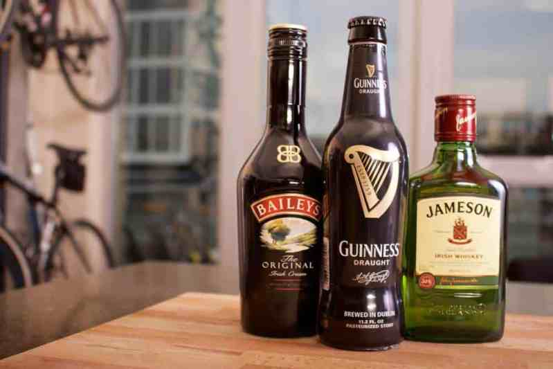 top liquor brands-Jameson and Baileys