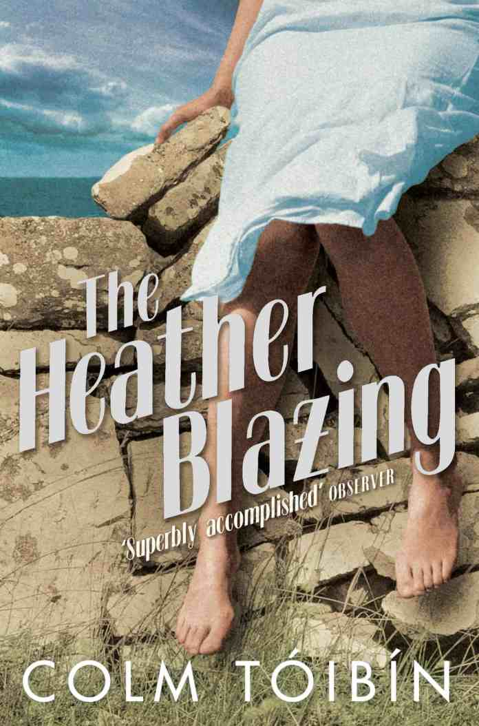 The Heather Blazing by Colm Toibin-Irish-books
