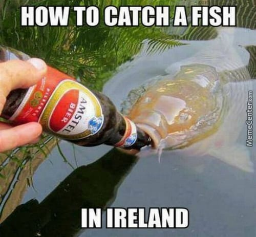 Fishing in Ireland Irish Memes