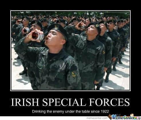 Irish Special Forces Rish Memes