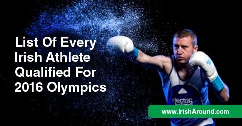 Irish athletes FB