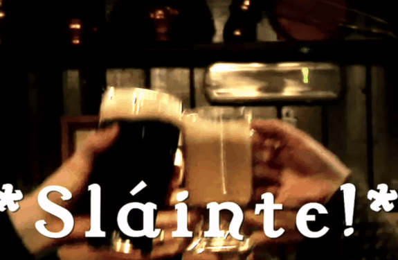 Slainte how to say it