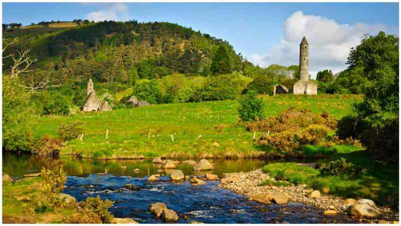 Glendalough is the most popular place to visit in Ireland.