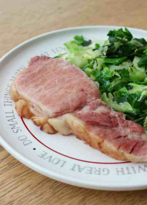 Traditional Irish Bacon & Cabbage