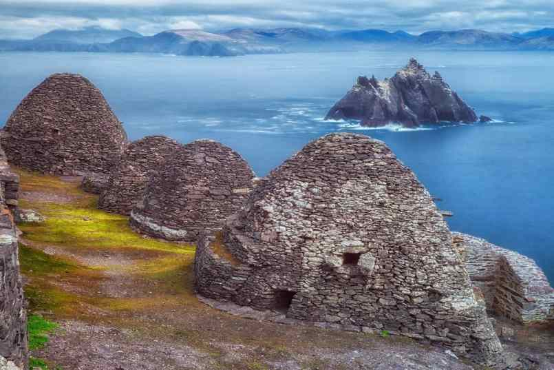 Skelling Islands are the most popular places to visit in Ireland.
