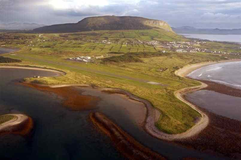 The Knocknera Mountain in Sligo is one of the most popular places to visit in Ireland.
