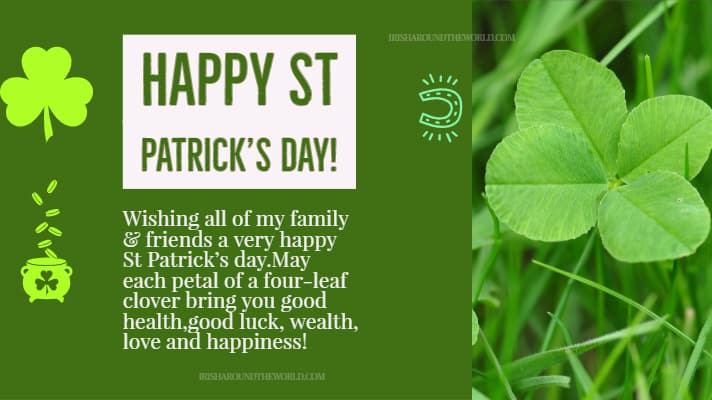 St Patrick's Day 2019 Blessing: