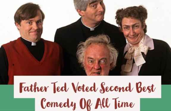 Father ted is voted second best comedy of all time