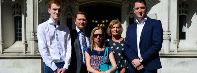 British Supreme Court rules Pat Finucane's murder inquiry failed to meet human rights standards