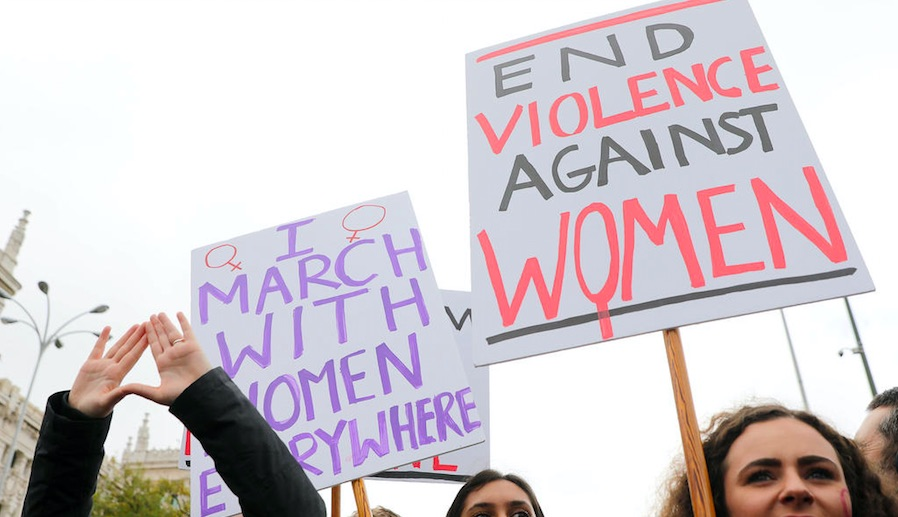 Inequality is at the heart of violence against women