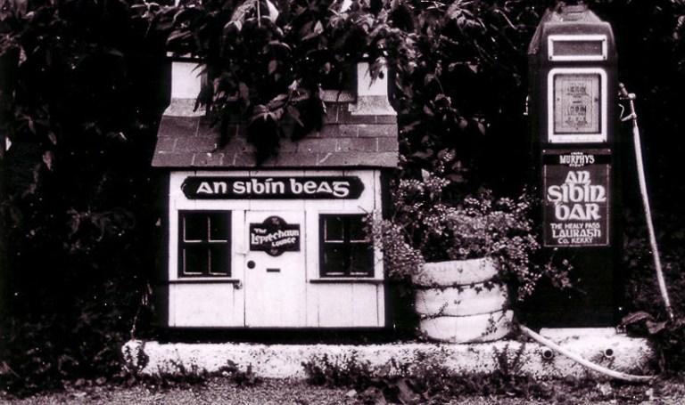 Porter beer pit stop, gas station in rural Ireland
