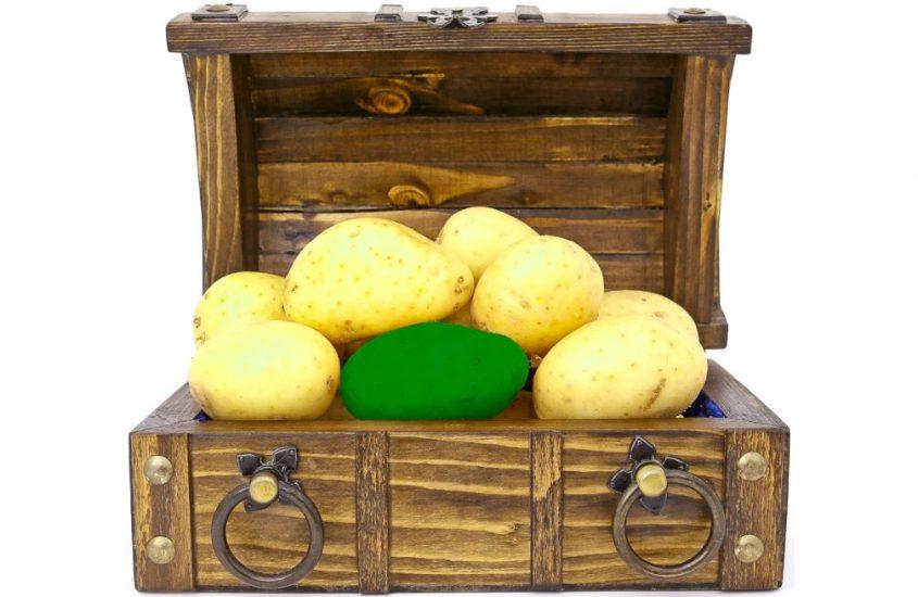 Potatoes from Ireland