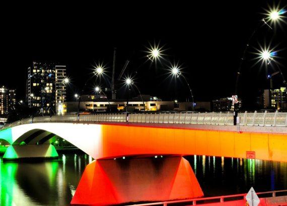 Patrick's legacy, bridge in Brisbane, Australia