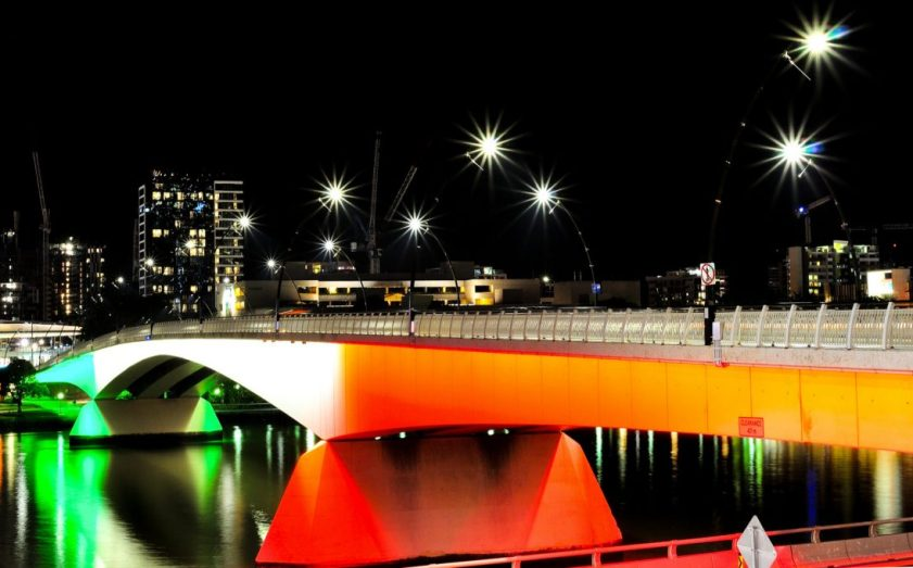 Patrick's legacy, bridge in Brisbane, Australia
