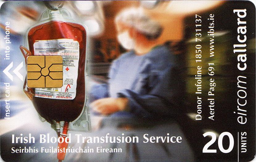 Blood Transfusion - The Irish Callcards Site