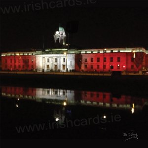 City Hall By Night - Cork City - Ireland