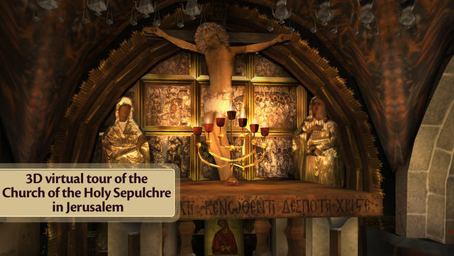 3D tour of Jesus' tomb opens in US