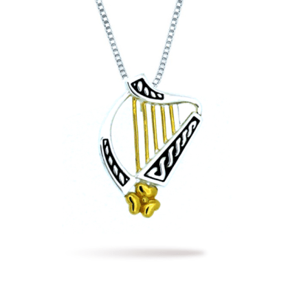 two_tone_irish_harp