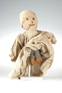 Brigid, Sainte patronne d'Irlande : Une poupée de St Brigitte en paille