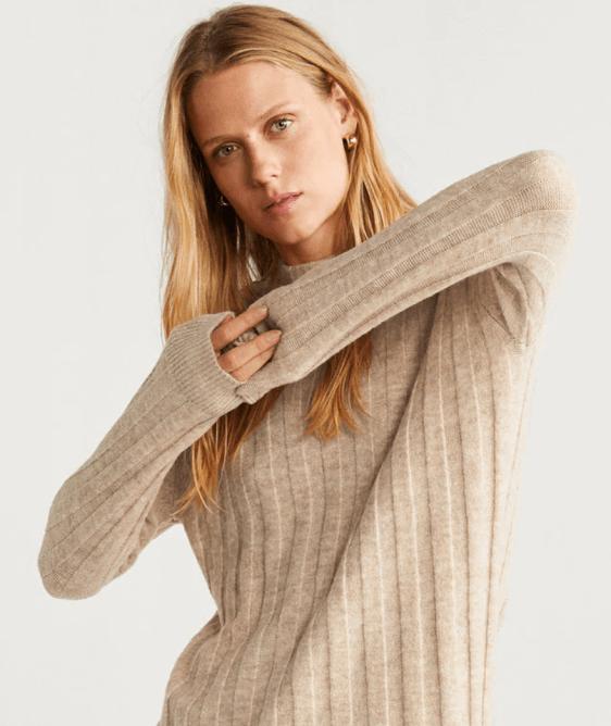 Screenshot_2019-09-23 Long knit sweater - Woman Mango Ireland