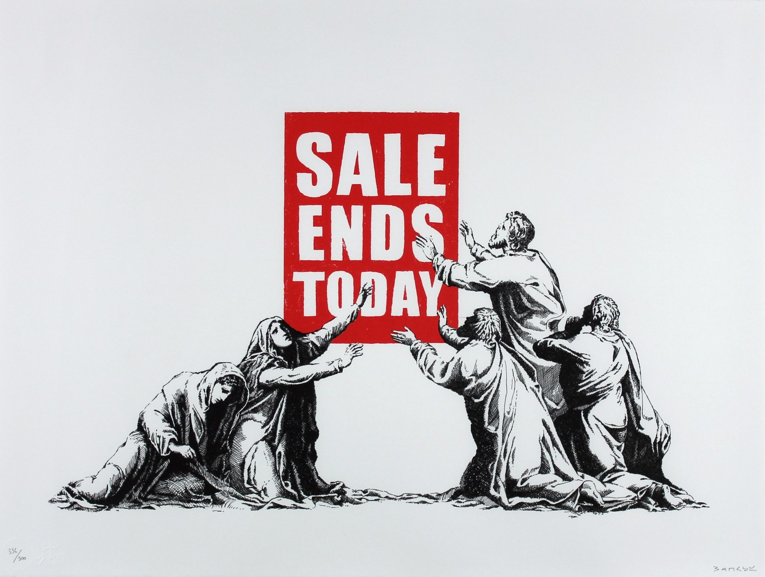 Art Source Banksy Sale Ends Today
