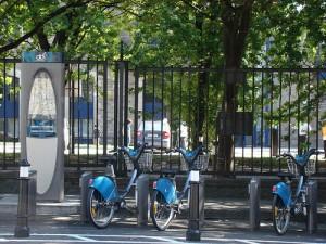 A DublinBikes station