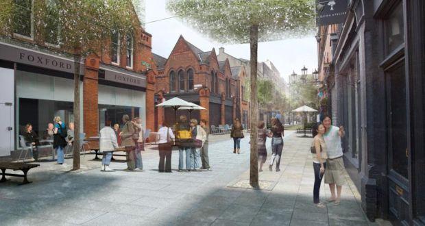 Drury Street as planned