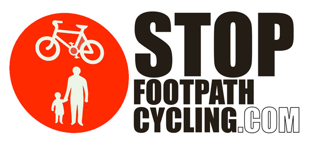 Stop Footpath Cycling 640