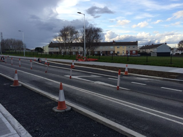 Tallaght Village Main Road Grade Separated Under Construction
