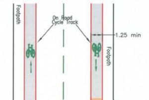 TRALEE cycle lanes drawings