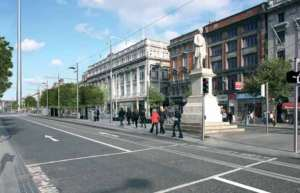 Luas photomontage: No more cycle lane on Lower O'Connell Street?
