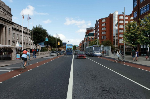 BRT St Stephen's Green visual