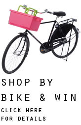 shop by bike and win