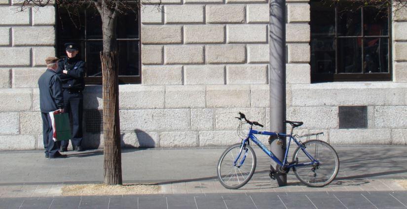 bicycle parking garda