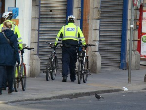 If a garda officer suspects that a suspect is being untruthful about their name or address, they already have powers to confiscate a suspect's bicycle.