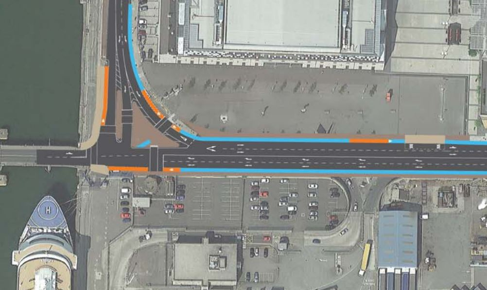 Point roundabout replacment