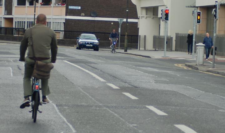 Dublinbikes on streets
