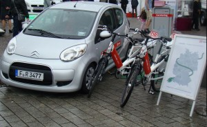 ecars and ebikes