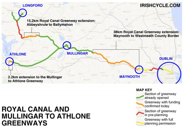 FINAL B Royal Canal and Dublin to Athlone greenways