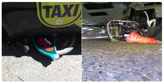 DublinBikes and taxi collision