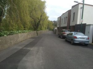 IMAGE: Existing local roads can be used so that the cycle route avoids some of the most unique walking paths.