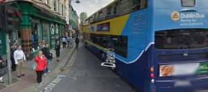 IMAGE: Despite its loaction in the city centre core and well-known Luas Cross City plans to reduce the width of Dawson Street, a submission from the AA said the speed limit on the street should be increased to 60km/h.