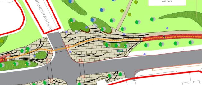 South Dublin County Council places obstacles on planned cycle route
