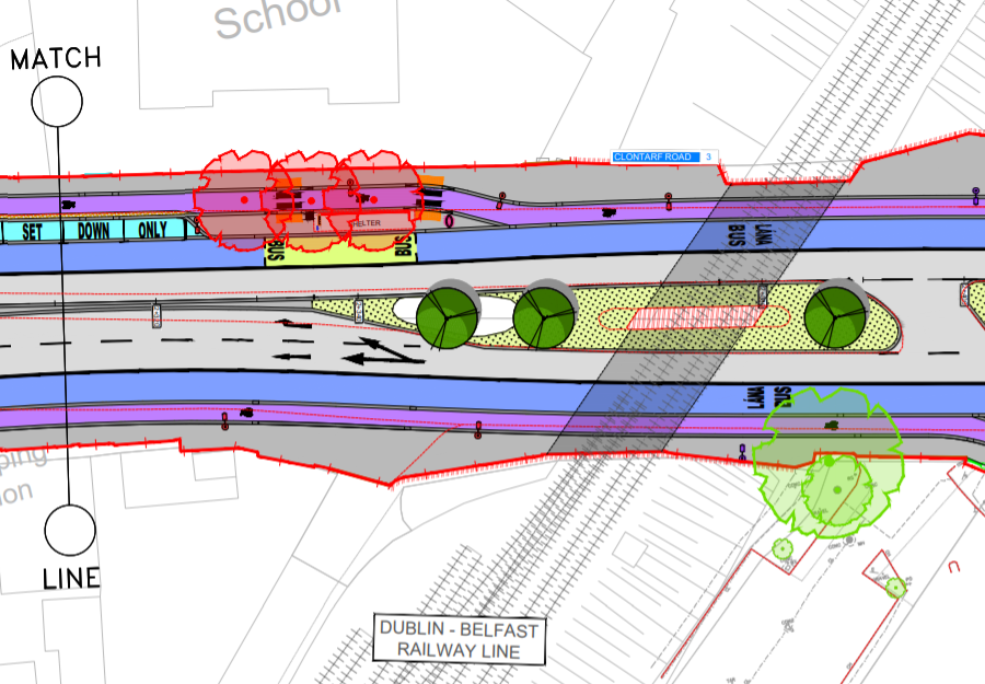 Clontarf Cycle Route set to be best route on main road in